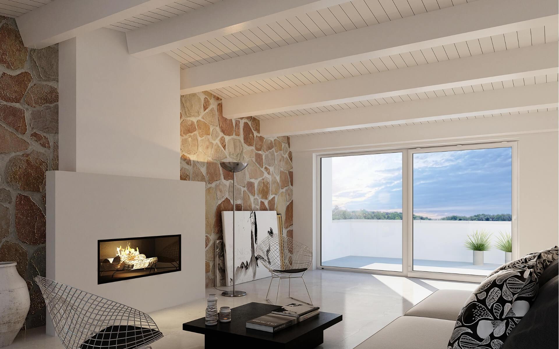 Come arredare la casa in montagna frimar serramenti milano for Come arredare la casa